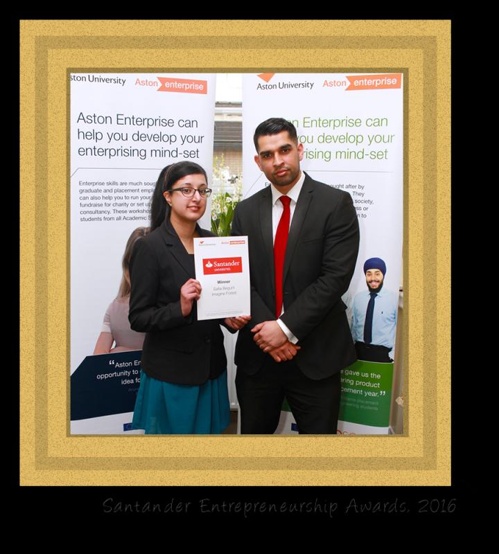 safia_begum_santander entrepreneurship awards_2016_experienced graphic designer